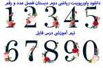 پاورپوینت فصل اول ریاضی دوم دبستان(عدد و رقم)