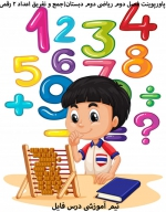 پاورپوینت فصل دوم ریاضی دوم دبستان(جمع و تفریق اعداد 2 رقمی)